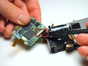 Pentax Optio WP Motherboard Replacement