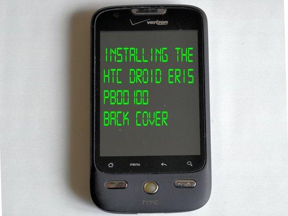 HTC Droid Eris Midframe Replacement