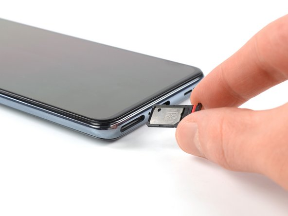 OnePlus Nord SIM Card Tray Removal