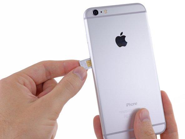 Remplacement de la carte SIM de l'iPhone 6 Plus