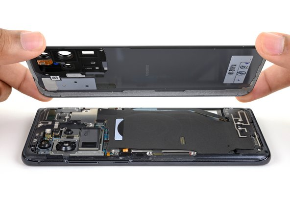 Samsung Galaxy S20 Ultra Back Cover Removal