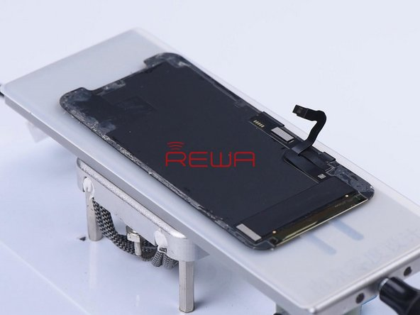 Place the OLED on the heating platform.
