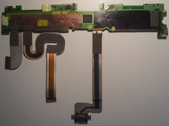 The back side of the motherboard offers very little of interest...