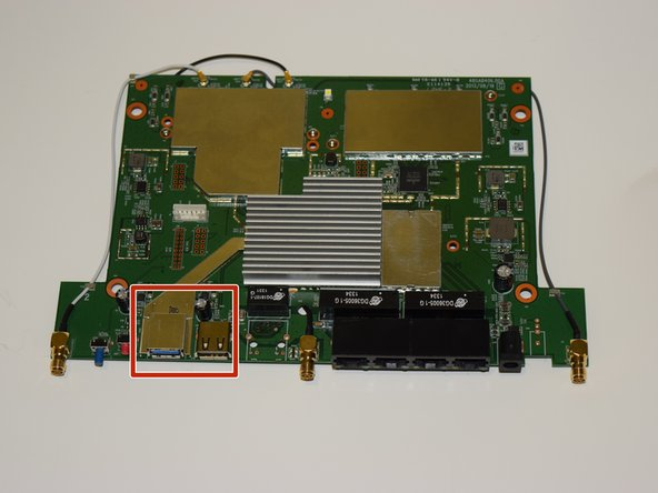 Linksys EA6900 USB Ports Replacement