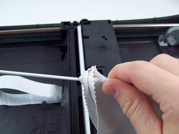 Repairing Microtek ScanMaker 5900 Dirty Bulb