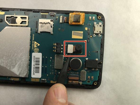 Remplacement de la caméra du Coolpad 3300A