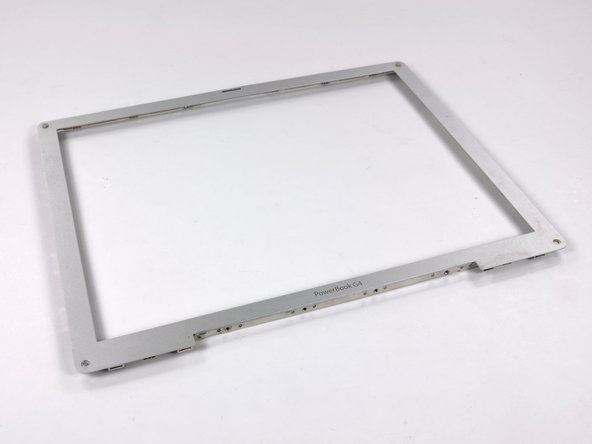 "PowerBook G4 Aluminum 12"" 1-1.5 GHz Front Display Bezel Replacement"