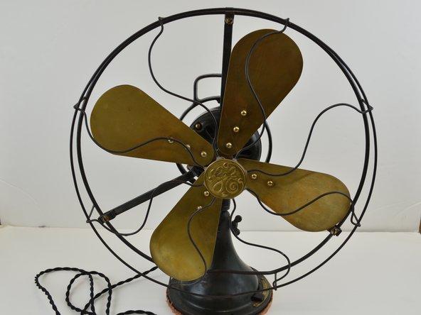 1922 GE AOU Fan Power cord Replacement