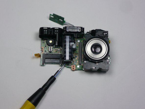 FujiFilm FinePix A340 Flash Unit Replacement