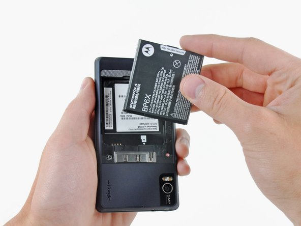 Motorola Droid 2 Battery Replacement