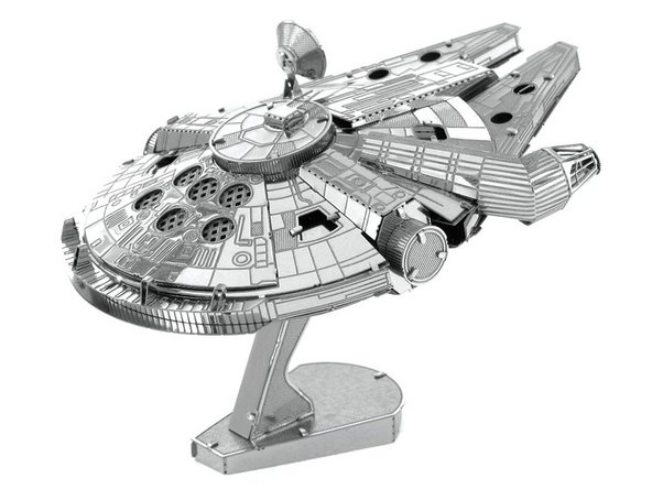 3D Puzzle How to Assemble Star Wars Millennium Falcon 3D Metal Model  Replacement