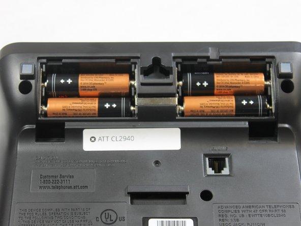 ATT CL2940 Batteries Replacement