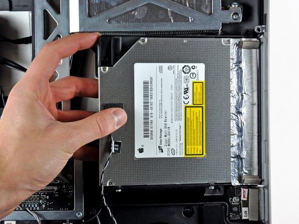 "iMac Intel 27"" EMC 2390 Optical Drive Replacement"