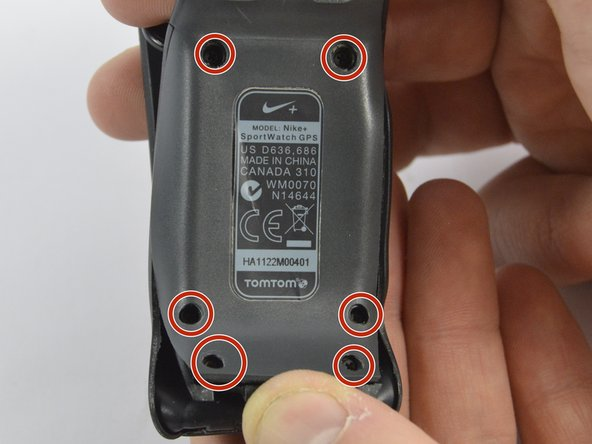 Nike SportWatch GPS Front Panel Replacement