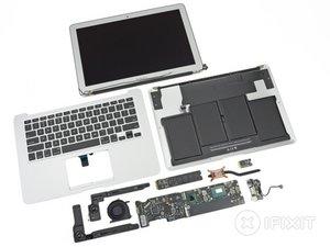 2012年中MacBook Air 13寸拆解