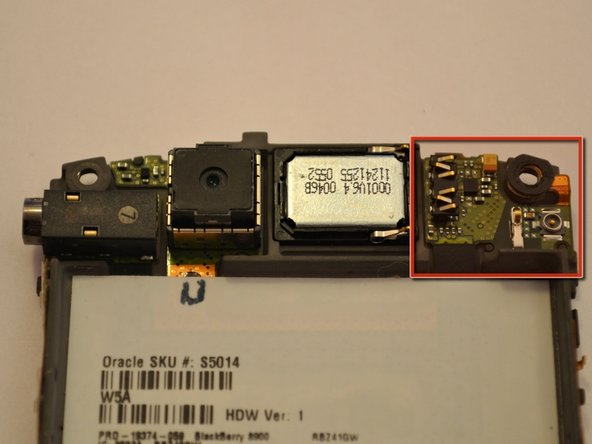 BlackBerry Curve 8900 Antenna Replacement