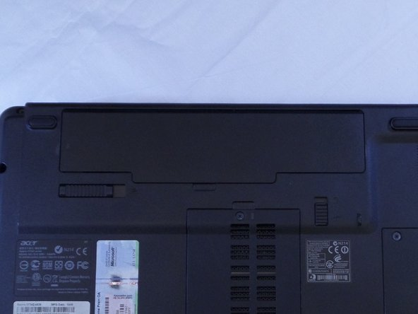 Acer Aspire 5734z-4836 Battery Replacement