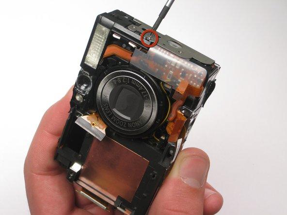 Canon PowerShot SD450 Flash Bulb