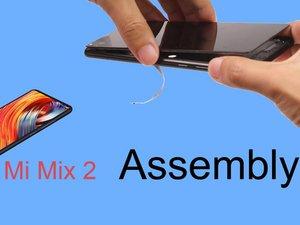 小米 MIX2 重新组装