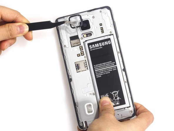 Samsung Galaxy Note 4 Rear Facing Camera Lens Replacement