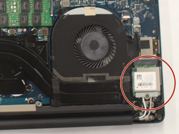 Dell XPS 15 9550 Wireless Card Replacement