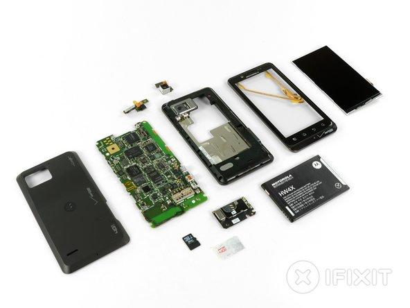 Motorola Droid Bionic Repairability Score: 9 out of 10 (10 is easiest to repair).