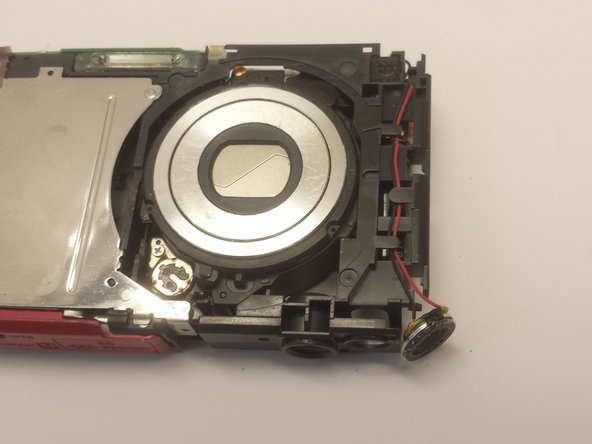 Sony Cyber-Shot DSC-W330 Lens Assembly Replacement