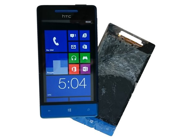 HTC Windows Phone 8S Display Assembly Replacement