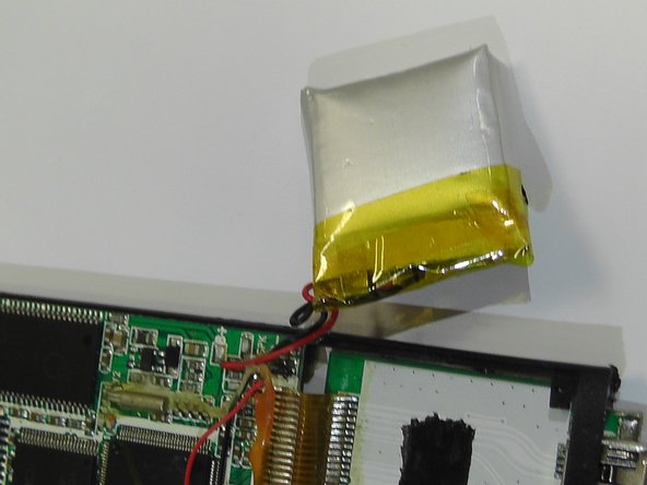 Eclipse 180G2 MP3 Video Player Battery Replacement