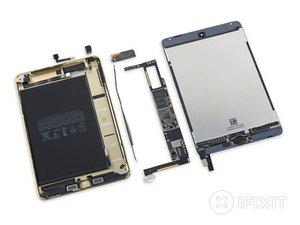 Vue éclatée de l'iPad Mini 4
