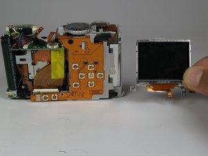 Remplacement de l'écran LCD du Canon PowerShot A75