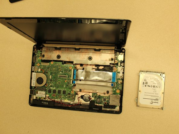 Asus 1015E-DS03 Hard Drive Replacement