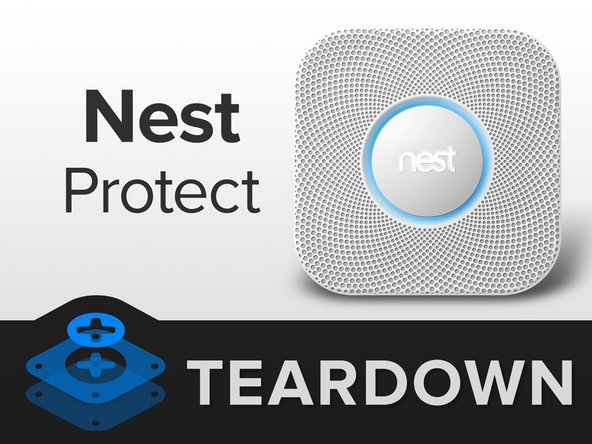 Welcome to the world, Nest Protect. Perhaps you will vanquish the ear melting, banshee cry of the over-excited smoke detectors installed in every home we've ever cooked in. Let's see what you're packing: