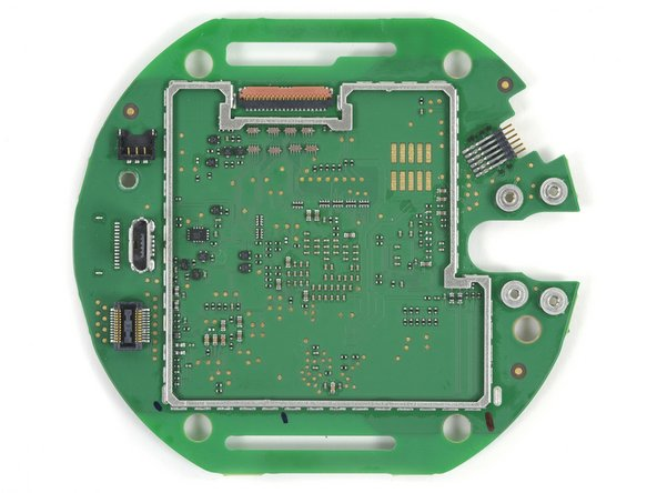 With all of the I/O connections on the back, the main motherboard houses all of its important ICs on the front:
