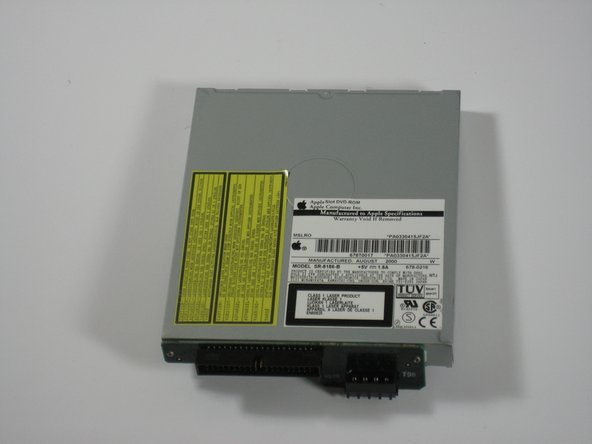 Power Mac G4 Cube Optical Drive Replacement