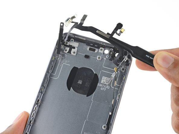 Remove the upper component cable assembly.