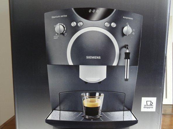 Siemens Surpresso TK56001 Kaffeeauslaufverteiler austauschen