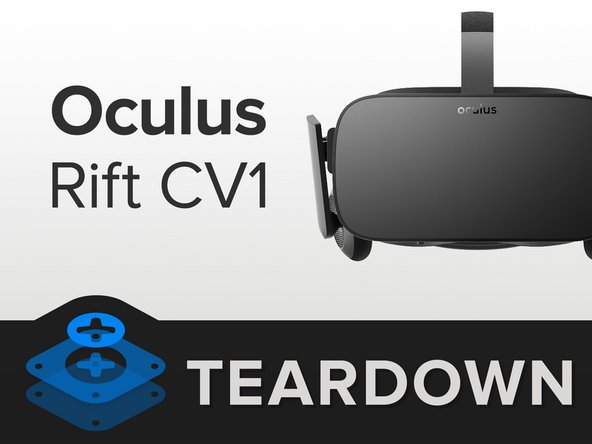 We've had two prerelease versions on our teardown table, so we're excited to see what tweaks this Rift has in store. Here's the scoop so far: