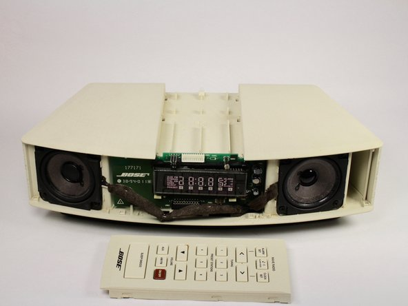 Bose Wave Radio AWR1-1W Button Panel Replacement