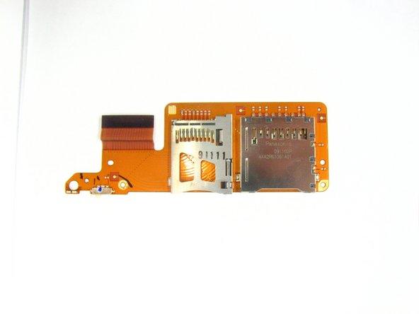 Remplacement du porte-cartes mémoire SD et Pro Duo du Sony Reader Touch Edition PRS-600