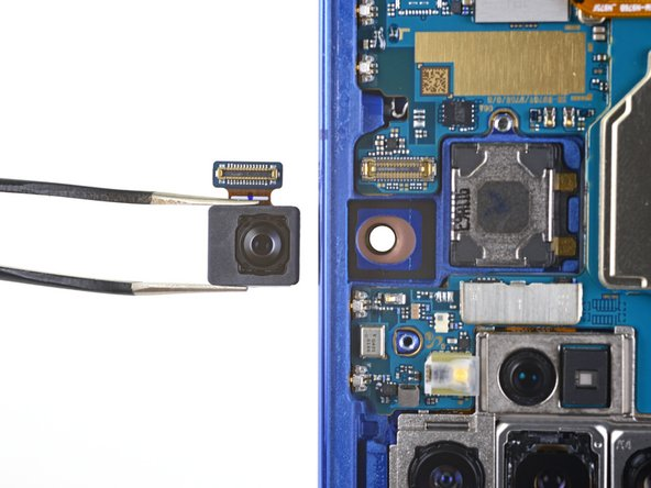 Samsung Galaxy Note10+ Front-Facing Camera Replacement