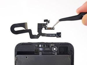 Caméra frontale et nappe de capteur