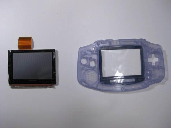 Game Boy Advance LCD Screen Replacement