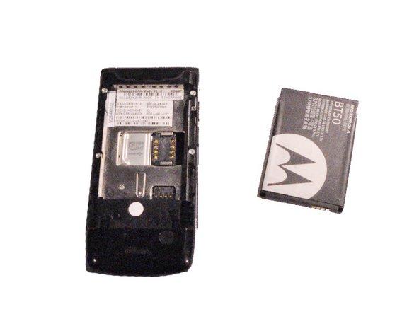 Motorola W490 Battery Replacement
