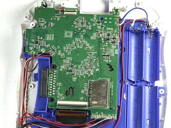 VTech InnoTab 2S Motherboard Removal