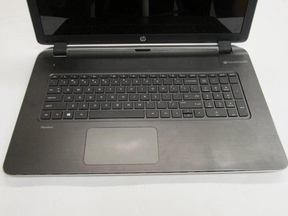HP Pavilion 17-f004dx Front Panel Replacement