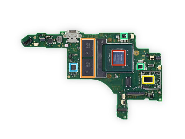 A small gathering of Miis ICs populates the front side of the motherboard: