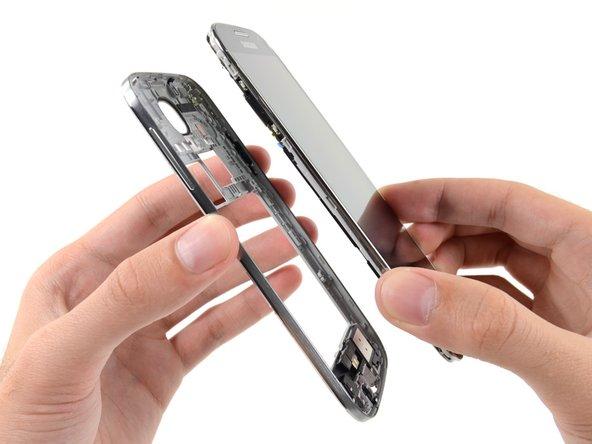 Reemplazo de marco medio del Samsung Galaxy S4