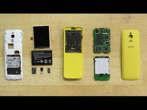 Nokia 8110 4G Teardown