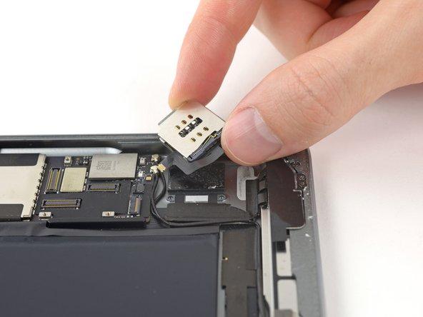 iPad Air LTE SIM Kartenleser austauschen